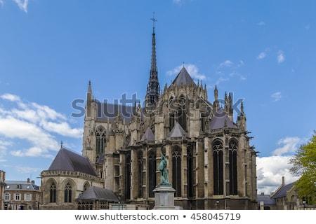 大聖堂 フランス ローマ カトリック教徒 市 教会 ストックフォト © borisb17