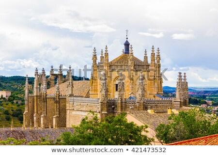 Klooster san juan Spanje stijl katholiek Stockfoto © borisb17