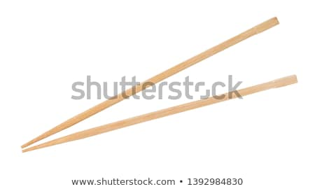 Disposable wooden chopsticks Stock photo © magraphics