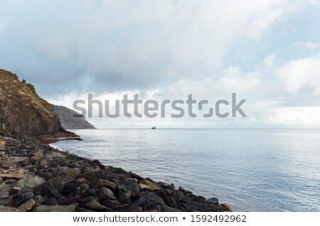 Colline Ocean tenerife nave da carico Foto d'archivio © ruslanshramko