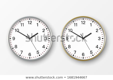 3D Black and White Numbers on the Wall Stock photo © make