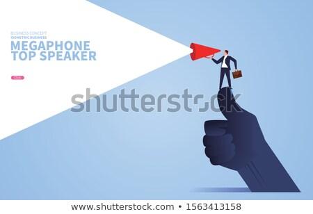 Business Giants and Community of Entrepreneurs Stock photo © robuart