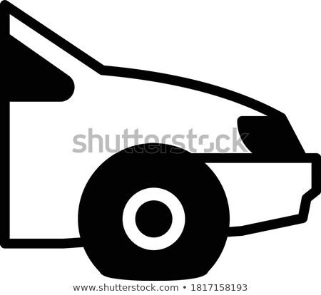 Sedan görmek araç vektör araba Stok fotoğraf © robuart