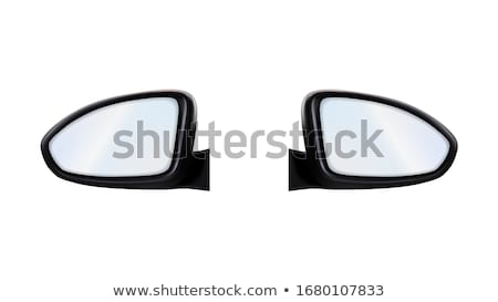 Left And Right Outside Rearview Car Mirrors Vector Stock photo © pikepicture