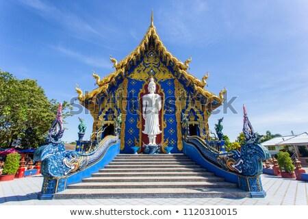 Wat Rong Sua Ten in Chiang Rai Stock photo © bloodua