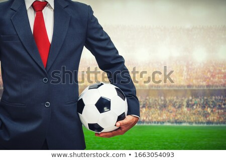 Business man soccer concept Stock photo © Krisdog