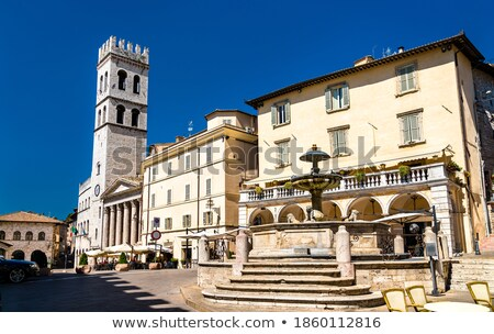 Town hall of Assisi Stock photo © aladin66