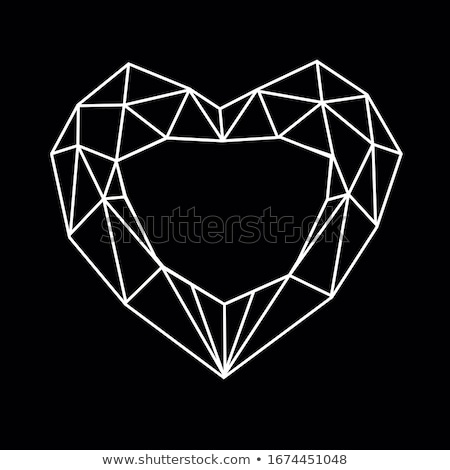 red diamond icons stock photo © cidepix