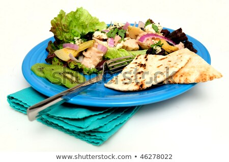 Tuna Salad With Kiwi Slices Stock photo © bendicks