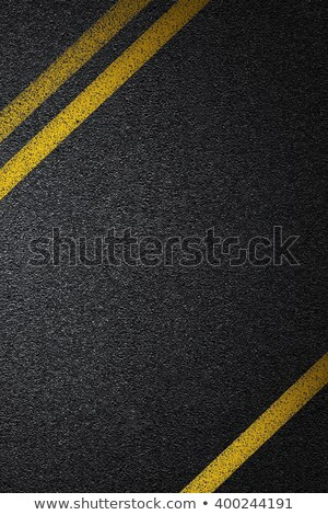 Foto stock: Dividing Line Of The Freeway