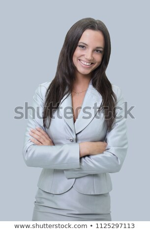 portrait of  brunet businesswoman Stock photo © photography33