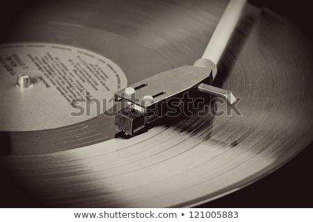 klasszikus · gramofon · izolált · fehér · zene · terv - stock fotó © artush