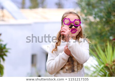 father and little girl at halloween stock photo © photography33