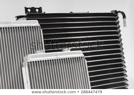 Auto radiator auto motor koeling geïsoleerd Stockfoto © tuulijumala