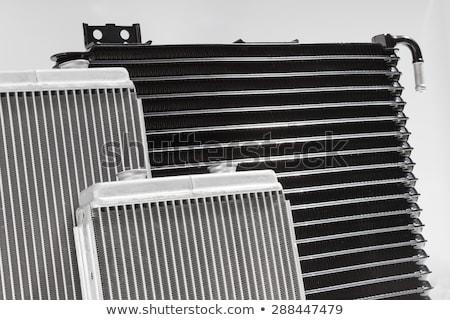 radiator · motor · koeling · aluminium · landbouw · trekker - stockfoto © tuulijumala