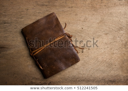 starych · notatka · zauważa · zielone · zniszczony · biały - zdjęcia stock © thp