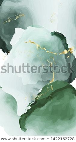 Green ink splash Stock photo © Zerbor