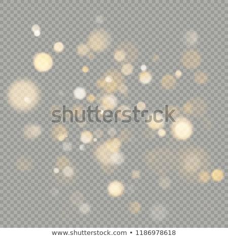 orange magic lights bokeh eps 10 stock photo © beholdereye