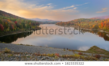 Verde montanhas Vermont horizonte árvore natureza Foto stock © ca2hill