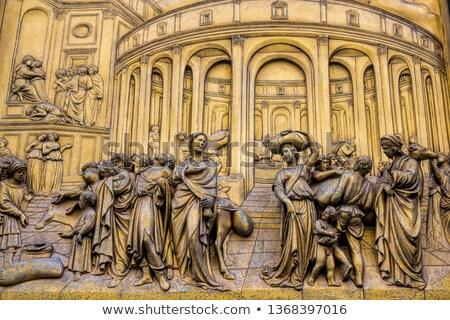 The Gate of Paradise - Baptistery, Florence  Stock photo © pixachi