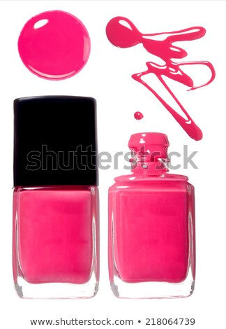Nagellak fles zwarte mode schoonheid Stockfoto © mady70