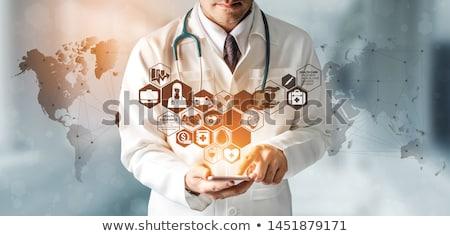emberi · vírus · szimbólum · vér · betegség · megcélzott - stock fotó © lightsource
