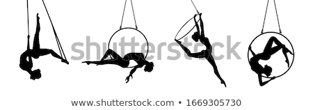 Aerial hoop Stock photo © disorderly
