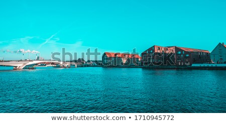 Modern District heating plant in Denmark Stock photo © jeancliclac