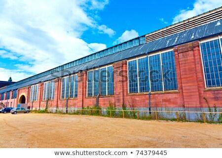 industrial · ventilação · dispositivos · telhado · pormenor · equipamento - foto stock © meinzahn