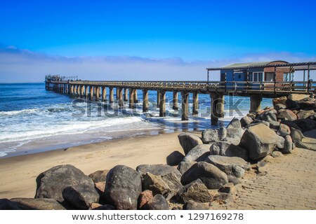 plaj · Namibya · deniz · manzarası · sahil · kasaba · Afrika - stok fotoğraf © imagex