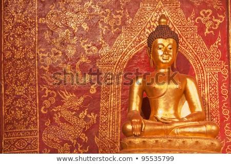 phra sihing buddha in chiang mai thailand stock photo © nalinratphi