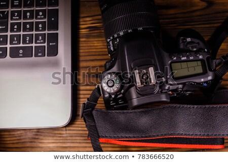 fotocamera · ancora · vita · nero · fotografo · cielo - foto d'archivio © diego_cervo