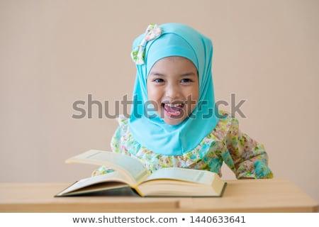 indonezyjski · Muzułmanin · dzieci · dzieci - zdjęcia stock © tujuh17belas