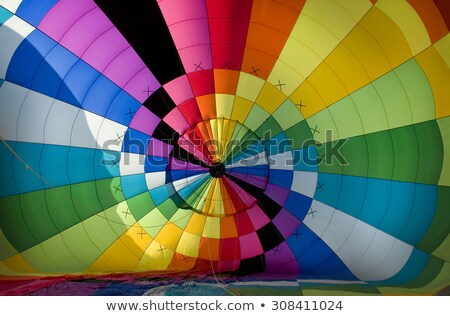 Interior of the envelope of a balloon during inflation stage of  Stock photo © Balefire9