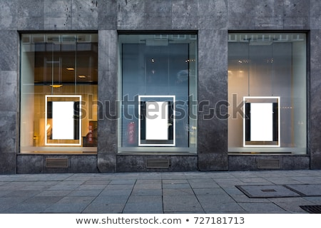 shop-window in big city Stock photo © ssuaphoto