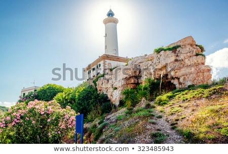 Phare port ville Espagne Europe Photo stock © amok