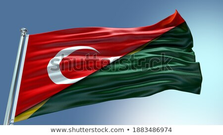 Turkey and Solomon Islands Flags  Stock photo © Istanbul2009