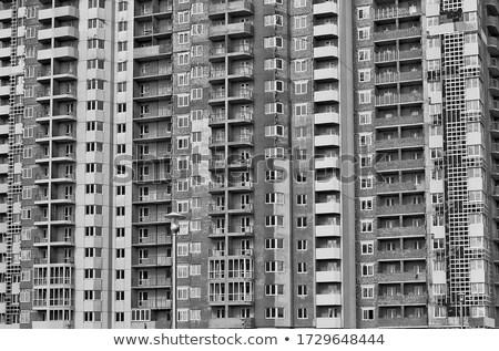 Unfinished generic residential building Stock photo © stevanovicigor