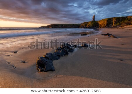 ballybunion cliffs panorama Stock photo © morrbyte