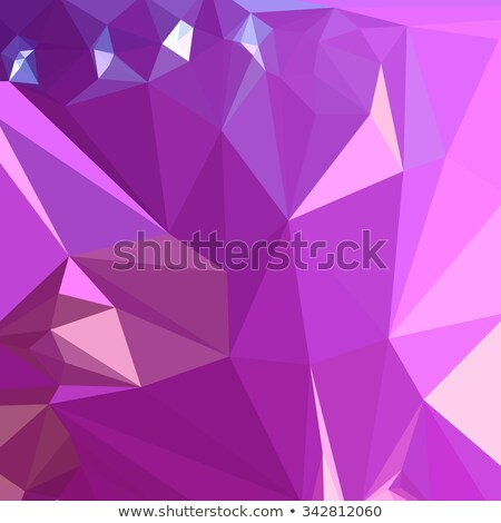 光 蘭 紫色 抽象的な 低い ポリゴン ストックフォト © patrimonio