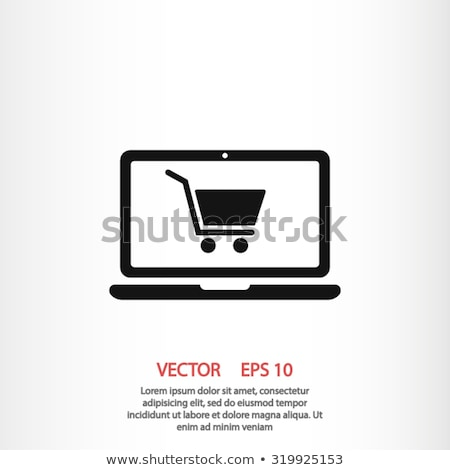 online · bolt · ikon · üzlet · terv · izolált · illusztráció - stock fotó © wad