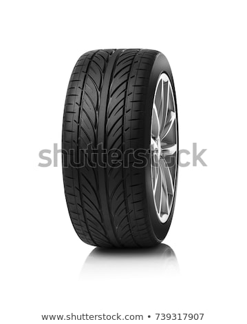 Wheel isolated on white Stock photo © shutswis