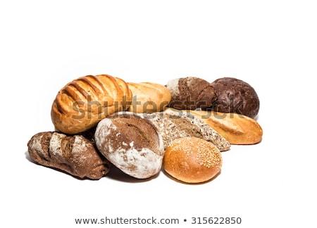 白パン · ケシ · 孤立した · 白 · 食品 · ディナー - ストックフォト © digifoodstock