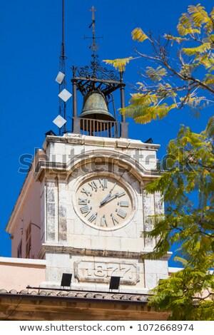 Denia Ayuntamiento city hall in Alicante Spain Stock photo © lunamarina