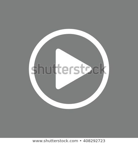 play button icons stock photo © bluering