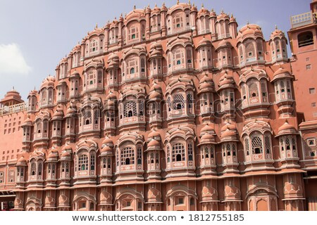 ancient castle in india stock photo © bbbar
