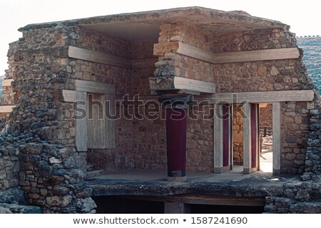 Stock photo: ancient civilization of Cnosos
