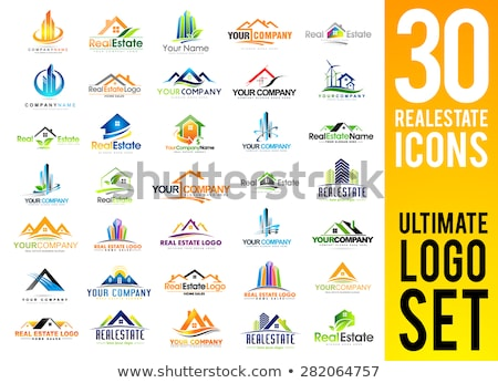real estate business logo concept Stock photo © SArts