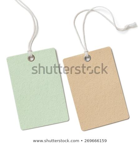 ingesteld · verkoop · groene · papier · vector - stockfoto © orson