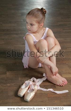 Retrato bailarino posando homem balé Foto stock © julenochek